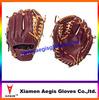 grain leather Baseball Gloves brown leather Baseball Gloves Supplier