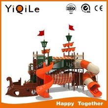 Excellent design Children Playground Wooden Slide