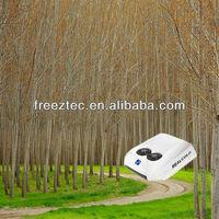 CE 12/24V DC air conditioner for mini bus