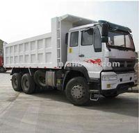 Golden Prince 6*4 used man diesel tipper truck