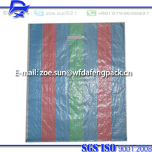 hot shopping pp woven sack bag factory supplier with handle for shopping with free sample