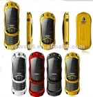 flip car shape mobile phone