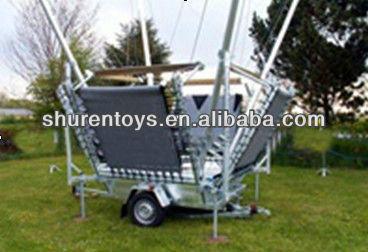 bungee trampoline à vendre 4 en 1