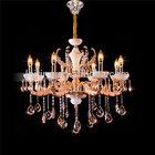 Luxury big crystal chandelier, zinc alloy chandelier lighting