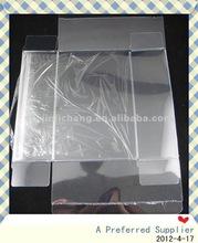 PVC PET clear plastic transparent boxes