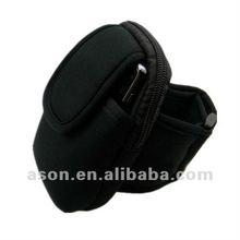 Black Adjustable Phone Keeper with Velcro