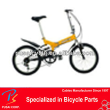 high quality cheap yellow hybrid Folding Bicycles for sale