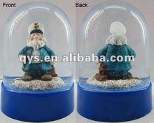 plastic snow dome,acrylic dome