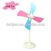 Soft blade USB mini fan