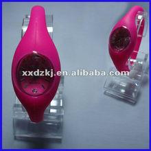New fashion quartz silicone ion watch for wholesale
