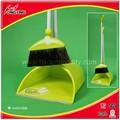 Plástico escobas y recogedor para interiores kit de limpieza