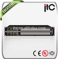 Itc TS-231 profesional de 2 canales estéreo 31 bandas de ecualizador gráfico