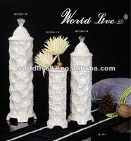 Supply Ivory modern design Home decoration Ceramic Storage Jar