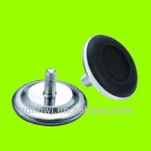 Plastic+iron White/Black/Silver furniture desk adjustable feet/leg mat (AF2911)