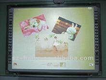 Multi users writing optical whiteboard, multi-touch interactive whiteboard