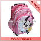 Hot Sale Cartoon School/Wheel/ Bag/ Trolley Backpack