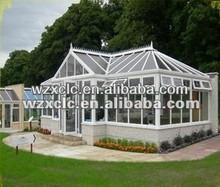 High performance prefabricated glass sunroom