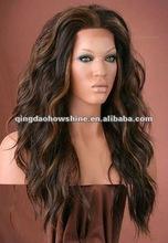 wholesale brazilian hair glueless lace front wigs for black women