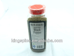 Bottled 100% pure Coarse Ground Black Pepper