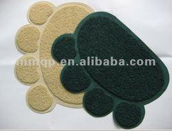 Soft/Fashion pvc pet mat/cat mat/dog mat