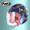 motorcycle kids open face child helmet