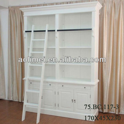 White Wooden Godrej Cupboard