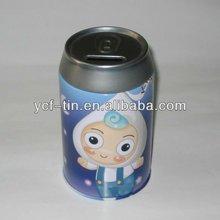 round coin tin box