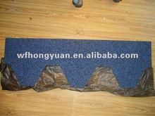 fiberglass asphalt shingle tile harbor blue