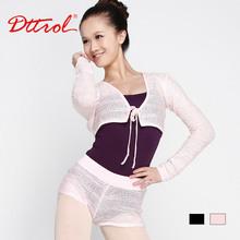 D006076 Dttrol crochet dance wear crop tops crochet bolero