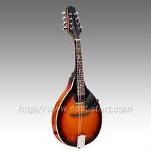 Hechos A mano Oval agujeros de un estilo instrumento mandolina