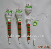 Snowman Pop Out Pen for children CHRISTMAS PROMOTION