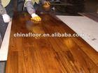 natural and waterproof burma teak parquet flooring
