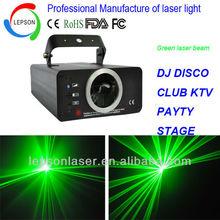 DJ equipment green laser light