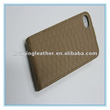 Leather Back cover case for Phone 4G