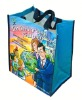 Fashion laminated pp woven tote bags promotion