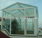 Aluminum winter garden sun house