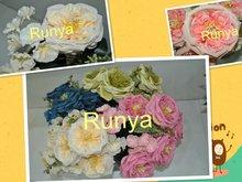 artificial silk flower CAMELLIA flower bunch