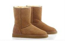 100% sheepskin snow boots
