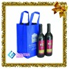 recycle non woven wine bag,wine packing bag,burlap tote wine bag for shopping