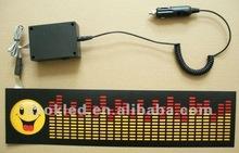 12v inverter with car cigarette lighter power to el car sticker