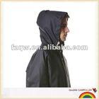 work wear pvc polyester pvc raincoat