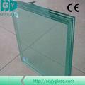 grandes hojas de vidrio