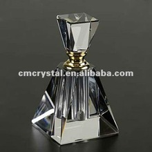 pyramid crystal perfume bottle