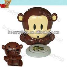 Mini Cute Monkey uv nail polish and dryer machine Blower Tips electric