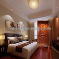 Puerta de madera sólida con relieve, lujosa y moderna