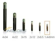 134.2KHz FDX-B 1.4x8mm RFID Glass Transponder