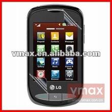 High clear anti-fingerprint screen ward for LG 800G