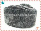 Animal-friendly faux fur Russian ushanka winter hats