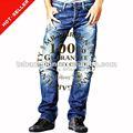 ( tg129m) 2013 nuevoindustrial de la moda de algodón pantalones vaqueros de marcasinternacionales