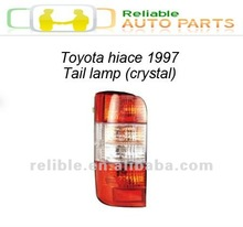 toyota hiace 97model tail lamp(crystal)